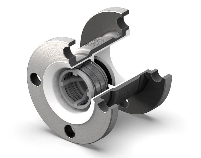 poppet check valve